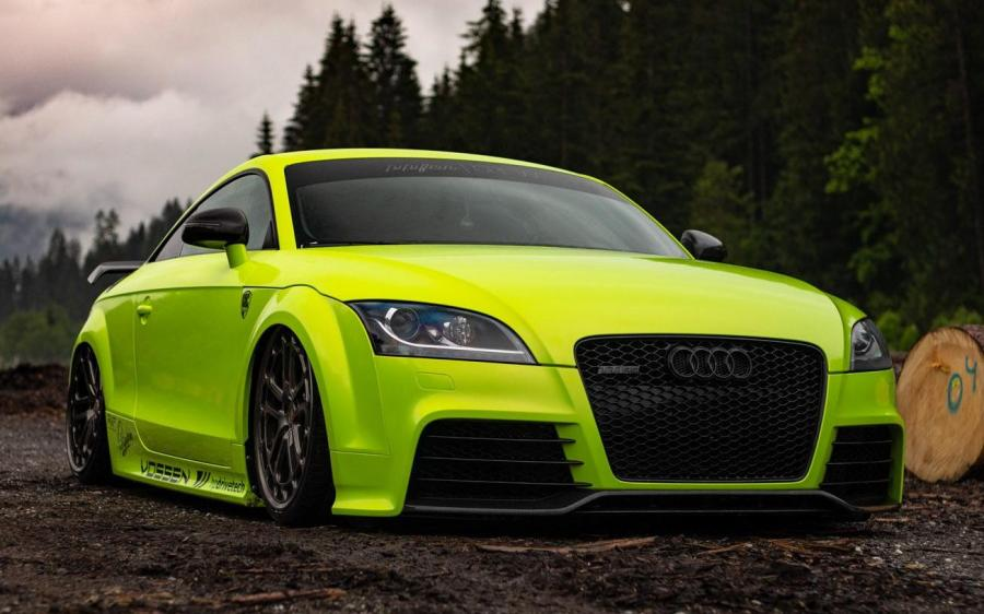 Audi TT RS by Pipifein on Vossen Wheels (LC2-C1) '2019