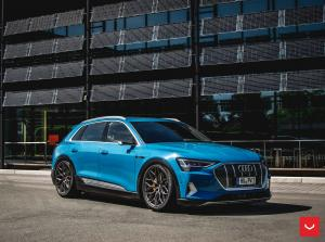 2019 Audi e-tron 55 Quattro on Vossen Wheels (HF-2)
