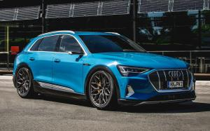 Audi e-tron 55 Quattro on Vossen Wheels (HF-2)