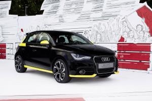 Audi A1 with Audi Genuine Accessories 2014 года