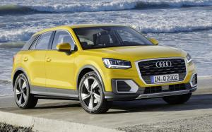 2016 Audi Q2 TDI Quattro Design (Vegas Yellow) (WW)