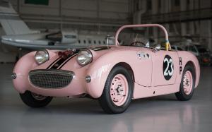 Austin-Healey Sprite SCCA Race Car Think Pink (Mk I) '1959