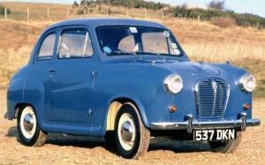 Austin A35 2-Door Saloon 1956 года