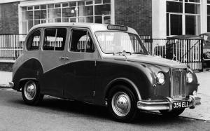 Austin FX4 Taxicab by Winchester 1960 года