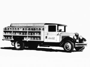 Autocar Dispatch Beverage Truck 1930 года