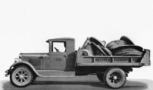 1931 Autocar Dispatch Dump Truck