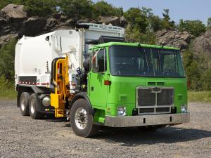 2001 Autocar ACX Xpeditor Labrie Automizer Refuse Truck