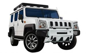 BAW Warrior SUV 5-Door Field Edition Show Car 2014 года