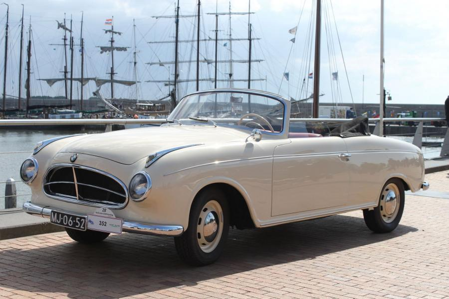 1955 BMW 502 Convertible Marburg by Autenrieth