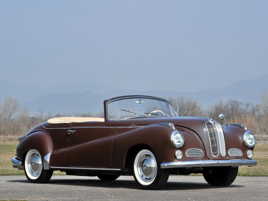 1956 BMW 502 Convertible by Autenrieth
