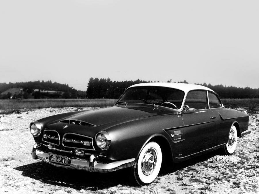 1956 BMW 502 Coupe by Beutler and Co.