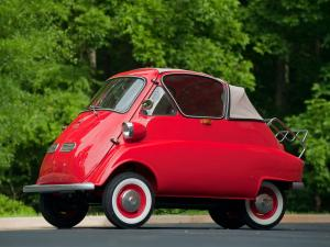 1956 BMW Isetta 300 Convertible