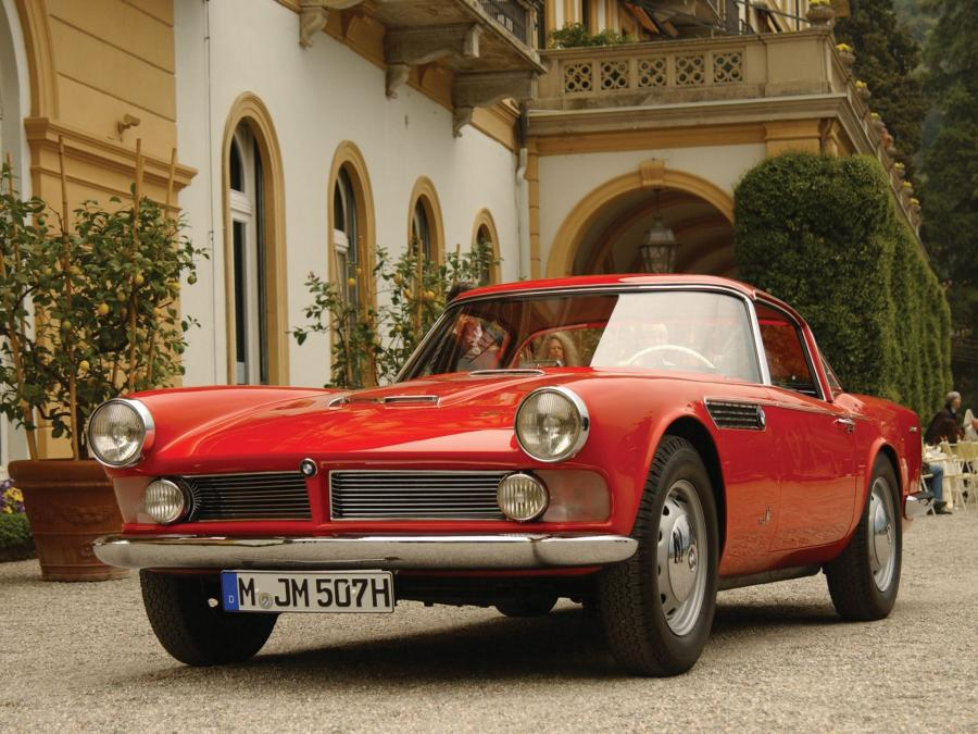 BMW 507 Coupe by Giovanni Michelotti