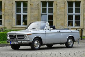 1967 BMW 1600-2 Convertible by Karmann