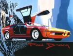 BMW Turbo by Paul Bracq 1972 года