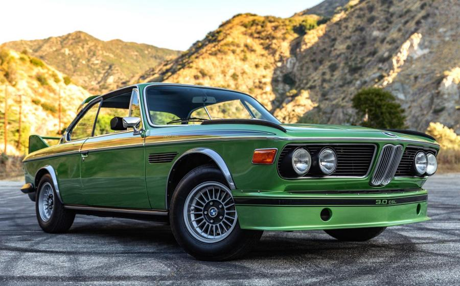 BMW 3.0 CSL with Racing Kit Batmobile Taiga Metalic (E9) '1974