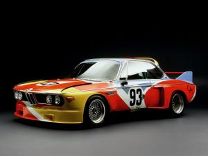 BMW 3.0 CSL Art Car by Alexander Calder 1975 года