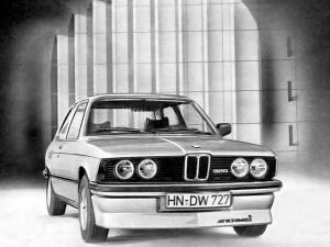 BMW 320 Coupe Kamei 1975 года