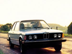 BMW 320i Coupe 1977 года (US)