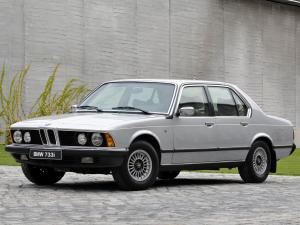 BMW 733i Security 1977 года