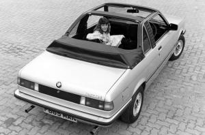 BMW 323i Top Convertible by Baur 1978 года