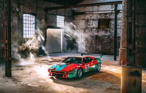 BMW M1 Group 4 Rennversion Art Car by Andy Warhol 1979 года