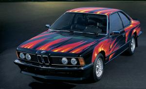 1982 BMW 635 CSi Art Car by Ernst Fuchs