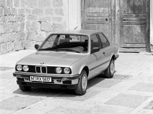 1983 BMW 325e Coupe