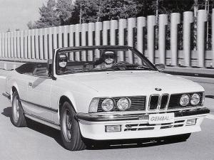 1986 BMW 635CSi Convertible by Gemballa