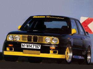 1986 BMW Laguna Seca 3.5 Turbo by Hamann