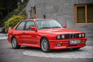 BMW M3 Coupe 1986 года