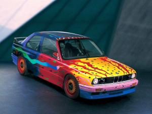 1989 BMW M3 Group A Art Car by Ken Done