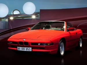 BMW 850i Convertible Prototype 1990 года
