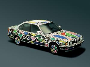1991 BMW 525i Art Car by Esther Mahlangu