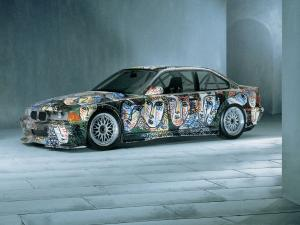 BMW 3-Series Coupe Art Car by Sandro Chia 1992 года