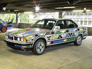 1992 BMW 525i Art Car by Esther Mahlangu