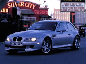 BMW Z3 M Coupe 1998 года