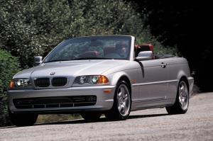 BMW 3-Series Convertible 2000 года