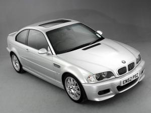 BMW M3 Coupe 2001 года (UK)