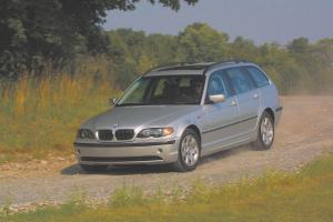 BMW 3-Series Touring 2002 года