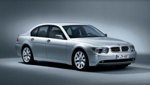 BMW 7-Series Sport Package 2002 года