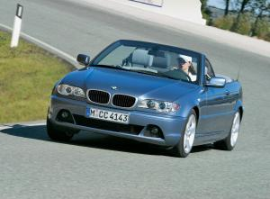 BMW 3-Series Convertible 2003 года