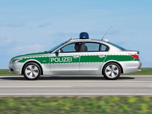 2003 BMW 5-Series Sedan Polizei