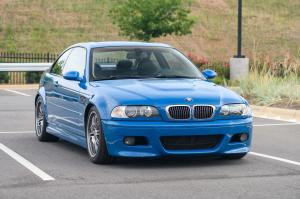 2004 BMW M3 Coupe Laguna Seca Blue