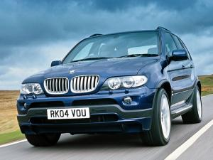 BMW X5 4.8is 2004 года (UK)