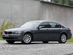 BMW 760Li Security 2005 года