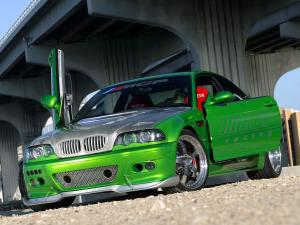 2005 BMW M3 The Hulk by MCP Racing