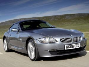 BMW Z4 3.0si Coupe (UK) '2006