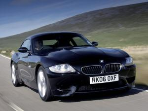BMW Z4 M Coupe (UK) '2006