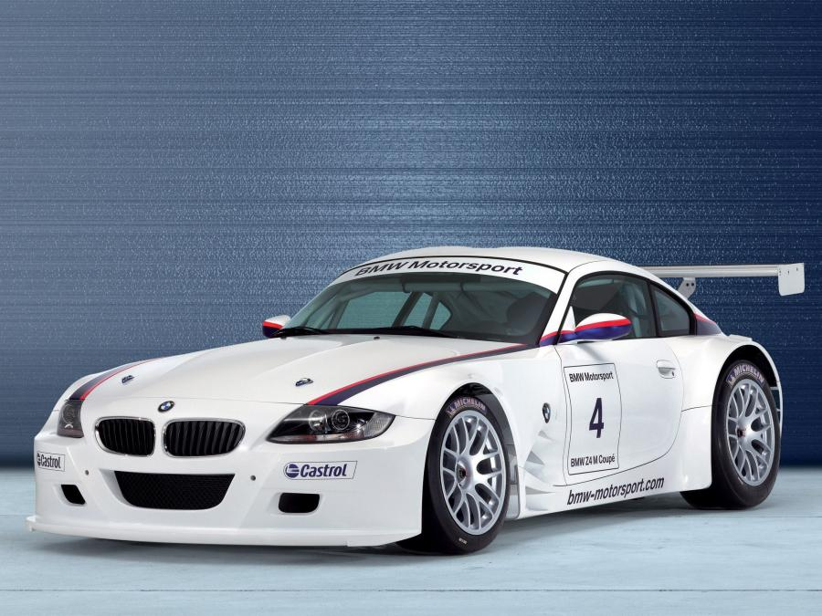 BMW Z4 M Coupe Race Car
